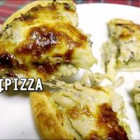 新北市美食 攤販 異國小吃 木耳Moore Pizza 照片