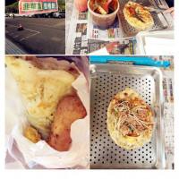 南投縣美食 攤販 台式小吃 中興蔥油餅 照片
