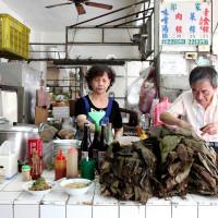 台南市美食 餐廳 中式料理 中式早餐、宵夜 郭家肉粽(台南) 照片