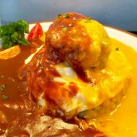 台北市美食 餐廳 異國料理 日式料理 陸角 Omurice 照片