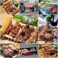 台南市美食 攤販 攤販燒烤 上榮新疆烤肉串(公園店) 照片