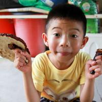 Chu Joseph-Bella在竹林松杉靈芝農場 pic_id=2398152