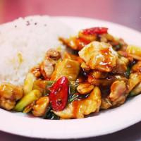 台北市美食 攤販 台式小吃 大龍街夜市-廟口的飯 照片