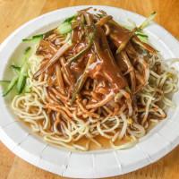 台北市美食 餐廳 中式料理 中式早餐、宵夜 空軍涼麵 (新店面) 照片
