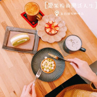 台北市 美食 餐廳 烘焙 蛋糕西點 木白甜點咖啡店 照片