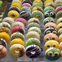 台北市美食 攤販 甜點、糕餅 Mr.Donuts Gelato甜甜圈雪糕 照片