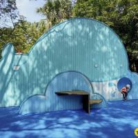台北市休閒旅遊 運動休閒 游泳池 玉成公園游泳池 照片