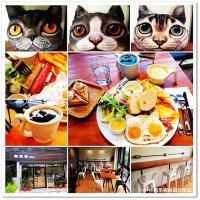 桃園市美食 餐廳 咖啡、茶 咖啡館 貓紙箱 Heal Brunch 照片