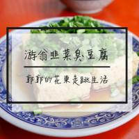 花蓮縣美食 攤販 台式小吃 游翁韭菜臭豆腐 照片