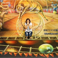 台北市休閒旅遊 景點 藝文中心 圖龍3D幻視藝術展 照片