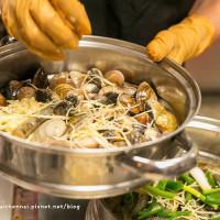 台南市美食 餐廳 火鍋 蒸氣海鮮桑拿鍋 照片