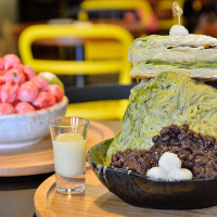 新北市美食 餐廳 飲料、甜品 冰淇淋、優格店 震湶雪花冰 SNOW ICE 照片