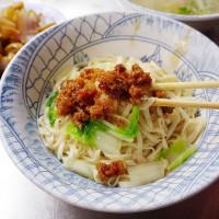 台中市美食 餐廳 中式料理 小吃 大甲市場無名麵店 照片