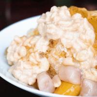 台北市美食 餐廳 飲料、甜品 剉冰、豆花 黑豆社人文冰室 照片