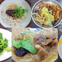 台中市美食 餐廳 中式料理 小吃 涼師父大腸蚵仔麵線 照片