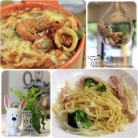 台中市美食 餐廳 異國料理 多國料理 歐兔啡食館-台中民俗公園店 照片
