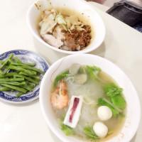 台北市美食 餐廳 中式料理 麵食點心 澎湖張海鮮麵疙瘩 照片