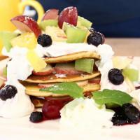 【宜蘭】格林Green 早午餐下午茶輕食|森林莓果鬆餅咖啡義大利麵