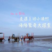 彰化縣休閒旅遊 景點 海邊港口 王功牧羊女 照片