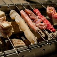 新竹市美食 餐廳 餐廳燒烤 串燒 打鐵 旋轉串燒露 營主題餐廳 照片