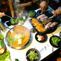 台北市美食 餐廳 異國料理 韓式料理 八色烤肉 照片