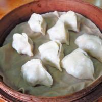 台北市美食 餐廳 中式料理 小吃 社子市場蒸餃 照片