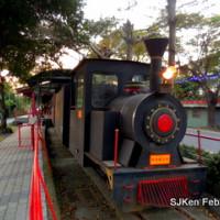 南投縣休閒旅遊 景點 車站 集集觀光蒸汽小火車 照片