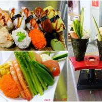台北市美食 攤販 壽司 沙拉王國 照片