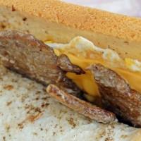 新北市美食 餐廳 中式料理 中式早餐、宵夜 晨吉司漢肉排蛋吐司-泰山明志店 照片
