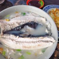 台北市美食 餐廳 中式料理 小吃 3元6虱目魚湯 照片