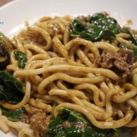 新竹縣美食 餐廳 中式料理 熱炒、快炒 吳媽媽沙茶咖哩炒麵 照片