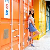 台中市休閒旅遊 景點 景點其他 僑光科大七彩貨櫃屋 照片