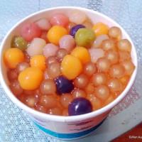 台北市美食 餐廳 飲料、甜品 飲料、甜品其他 彩虹黃金綜合粉圓 照片