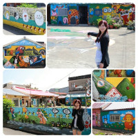 嘉義縣休閒旅遊 景點 景點其他 國寶阿祖的彩繪古厝 照片