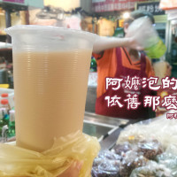 台南市美食 攤販 冰品、飲品 台南東菜市場-阿粉姨牛乳紅茶 照片