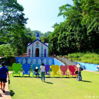 南投縣休閒旅遊 景點 景點其他 大黑松小倆口愛情故事館 月老教堂 照片
