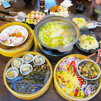 台南市美食 餐廳 火鍋 順隆發蒸籠海鮮火鍋 照片
