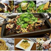 台中市美食 餐廳 中式料理 川菜 城裡城外巫山烤魚 照片