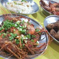 新竹縣美食 餐廳 中式料理 熱炒、快炒 紅燈籠活蝦 照片
