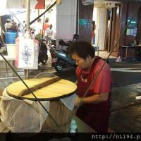 台北市美食 攤販 台式小吃 古早味阿嬤飯糰 照片