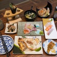 台中市美食 餐廳 異國料理 三合屋手作壽司店 照片