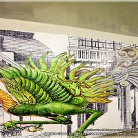 台南市休閒旅遊 景點 景點其他 衛民街彩繪地下道 照片