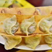 桃園市美食 餐廳 中式料理 麵食點心 元寶鍋貼 照片