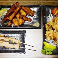 台北市美食 餐廳 餐廳燒烤 串燒 錦虎木炭串燒 照片