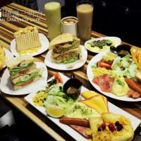 桃園市美食 餐廳 速食 早餐速食店 豐滿總匯咖啡早午餐(桃園南崁店) 照片