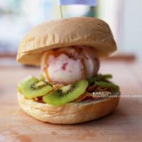 台中市美食 餐廳 飲料、甜品 冰淇淋、優格店 漢堡冰淇淋Ice Cream Bun's 照片