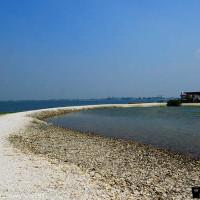 屏東縣休閒旅遊 景點 海邊港口 蚵殼島 照片