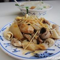 台北市美食 餐廳 中式料理 小吃 南機場夜市黑白切米粉湯 照片