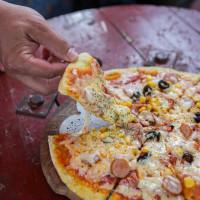 南投縣美食 攤販 攤販燒烤 找窯子批薩 照片