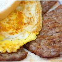 桃園市美食 餐廳 速食 早餐速食店 晨吉司漢肉排蛋吐司-龜山大同店 照片